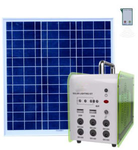 20W off-Grid Solar Home Lighting System pictures & photos