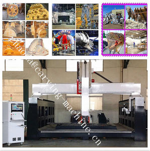 Polystyrene Foam Making 5 Axis CNC Machine / Mould Sculpture CNC Milling Machine 5 Axis pictures & photos