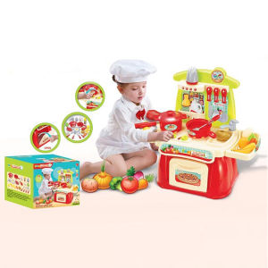 Hot Sale Electric B/O Toys Kitchen Play Set with Sound and Light (10221874) pictures & photos