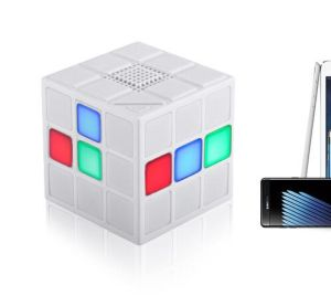 Colorful Cube LED Portable Wireless Bluetooth V4.1 Mini Speaker pictures & photos