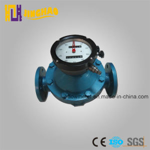 LC Oval Gear Flowmeter/LC Digital Oval Gear Flow Meter Crude Oil Flow Meter Fuel Oil Flow Meter pictures & photos