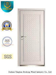 Modern Style Security Door with White Color (B-3011) pictures & photos