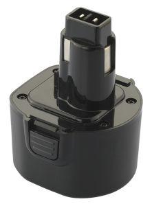 9.6V 2500mAh Ni-MH Battery for Dewalt De9036 De9061 De9062