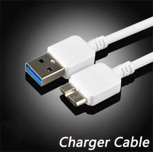 Original Sync and Charge 1m TPE Round USB Charger Cable for Samsung Note 3 (XSSJ-002)