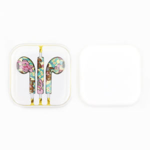 3.5mm Painting 5g Line Control in-Ear Headphones for iPhone