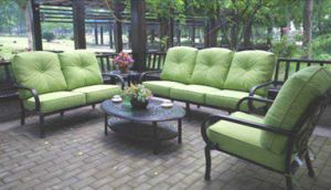 Patio Cast Aluminum Chat Group Furniture pictures & photos