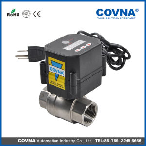 12V 24V Time Contorl Mini Electric Water Valve pictures & photos