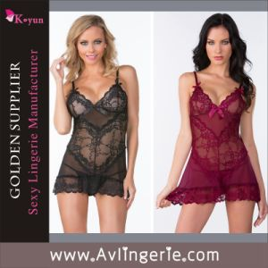 New Fashion Women′s Lace Sexy Lingerie (KLB1-059)