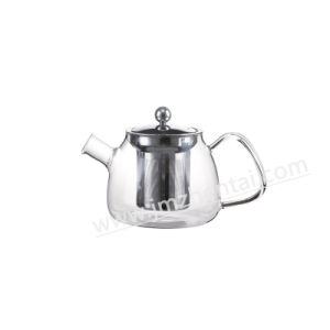 Manufacturer Wholesale Glass Teapot pictures & photos