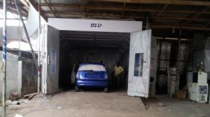 Btd Spray Booth Painting Booth in Africa pictures & photos