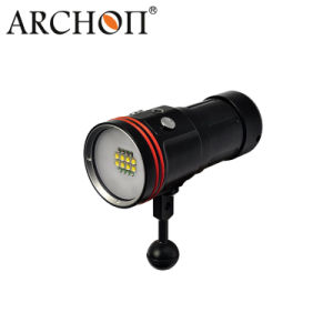 IP68 W42V Powerful 50watts Underwater Four Colors Rechargeable Video Lighting pictures & photos