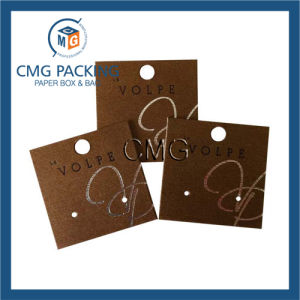 Copper Color Earring Display Card (CMG-060) pictures & photos