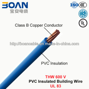 Thw, Building Wire, PVC Insulated Wire (UL 83) pictures & photos