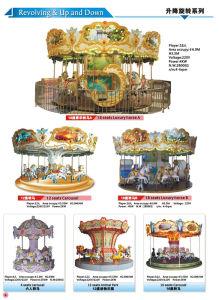 Fiberglass 12 Seats Horse Carousel for Kids Fun Land pictures & photos