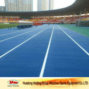 Outdoor Sport Floor Run Track Rubber Mat Iaaf Certified 13mm Running Track pictures & photos