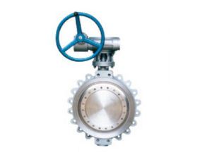 Steel Offset Butterfly Valve D371h-10 with Low Price