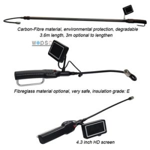 6m Telescopic Pole Inspection Camera for Air Duct Condition Inspecting pictures & photos