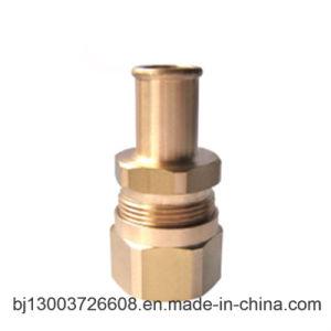 CNC Machining Bright Brass Hex Bolt & Nut