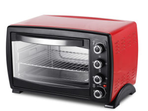 35L Electric Oven Red Color Electric Toaster Oven pictures & photos