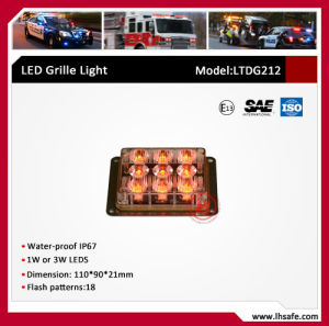 Surface Mounted LED Warning Lighthead for Fire Truck Ambulance Truck Tractor Trailer (LTDG212) pictures & photos