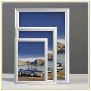 Aluminum Wall-Mounted Snap Frames, 25mm Clip Frame pictures & photos