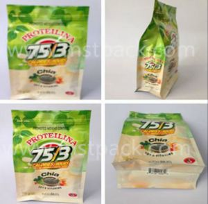 Side Gusset Flat Bottom Gusset Bag/ Tea Packaging pictures & photos