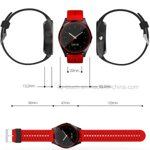 2017 New Slim Design Smart Watch Phone with SIM Card Slot W9 pictures & photos