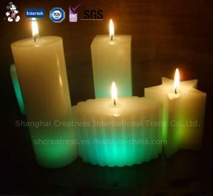 New Design Scented LED Pillar Candle for Decoration pictures & photos