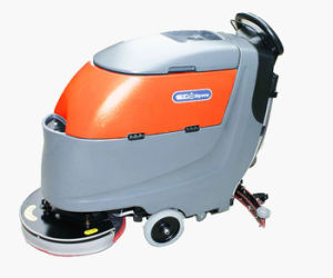 Popular Walk Behing Floor Scrubber on Hard Floor pictures & photos