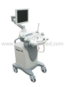 CE Approved Trolley Color Doppler Ultrasound Scanner Ysd680 pictures & photos