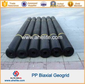 Plastic Biaxial Geogrid for Retaining Wall Reinforcement pictures & photos