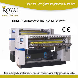 Automatic Double Nc Cutoff for Paperboard Cutting Machine pictures & photos