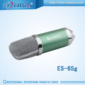 Ealsem Es-6sg Made in China Hot Sell High Quanlity Studio Microphone Condenser Microphone pictures & photos