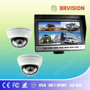 10.1 Inch Rear View System with Waterproof IP69k Dome Camera for Bus pictures & photos