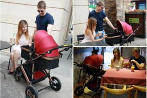 High Landscape Aluminum Alloy Baby Stroller pictures & photos
