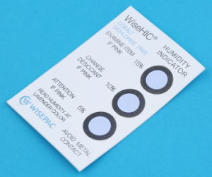 5%-15% Cobalt Free (HIC) Humidity Indicator Card (WiseHIC-5%-15%) pictures & photos