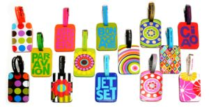 Wholesale Fashion Rubber Silicone Luggage Tag with Printing Custom Logo pictures & photos