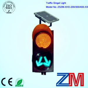 300mm Yellow Full Ball & Green Arrow Vehicle Traffic Light pictures & photos
