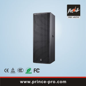 Dual 15inch Professional Loudspeaker pictures & photos