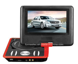 7 Inch LCD Portable DVD Player with TV ISDB-T pictures & photos