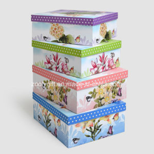 Customized Printing Paper Storage Gift Box / Nesting Paper Packing Boxes pictures & photos