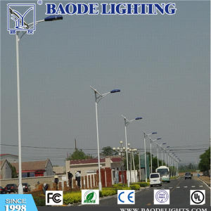 6m Round Pole with 42W Solar LED Street Light pictures & photos