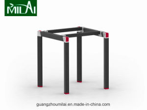 Straight Design Hardware Table Leg Office Meeting Table with Moving Cabinet pictures & photos
