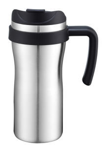 Stainless Steel Coffee Mug with Handle Use Car and Office pictures & photos