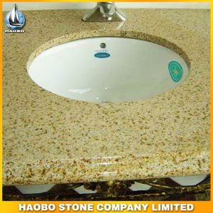 Natural G682 Granite Countertop with Ceramic Sink pictures & photos