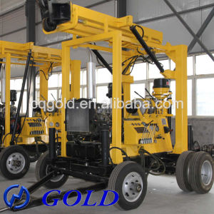 Water Well Drilling Rig, Construction Equipment for Sale and Rock Core Machine pictures & photos