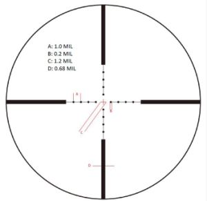 Vector Optics Siegfried 3-12X50 First Focal Plane Tactical Rifle Scope Riflescope pictures & photos