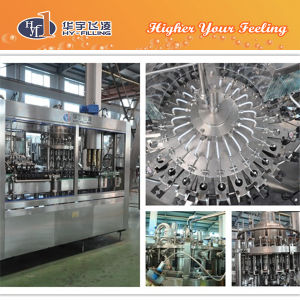 Hy-Filling Glass Flavor Milk Hot Filling Machine pictures & photos