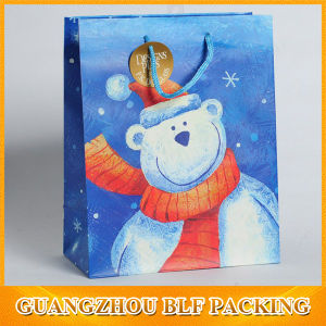 Custom Color Paper Christmas Promotional Gift Bag Shopping pictures & photos