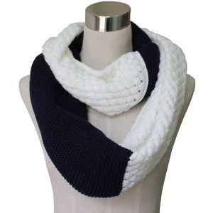 Lady Fashion Winter Acrylic Knitted Cashmere Scarf (YKY4312) pictures & photos